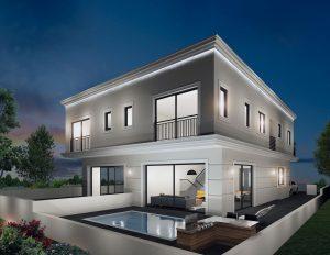 בית בסגנון אירופאי קלאסי